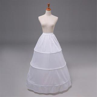 ドレス レディースドレス ロングスカート フリル 三段フリル 花嫁ドレス 最安値