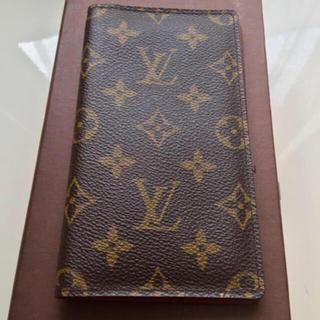 ルイヴィトン(LOUIS VUITTON)の美品 正規品ルイヴィトン手帳カバー(手帳)