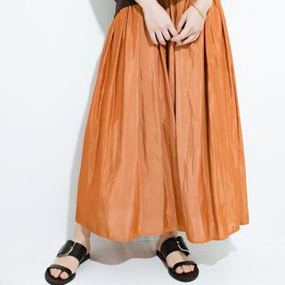 ハコ(haco!)の☆今季春物☆新品タグ付☆このスカートさえはけば女っぽい!たっぷりギャザースカート(ロングスカート)