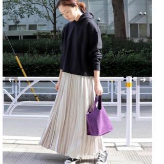 IENA SLOBE - 新品タグ付き イエナ サテンプリーツロングスカート