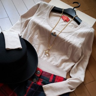 Vivienne Westwood - オーブ刺繍ニットセーター