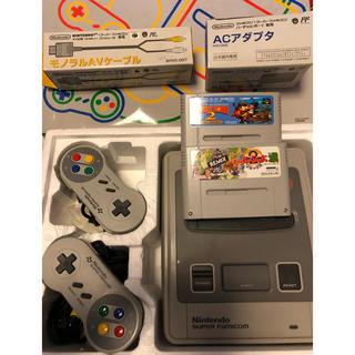スーパーファミコン(スーパーファミコン)のスーパーファミコン ソフト2本付(家庭用ゲームソフト)