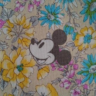 ディズニー(Disney)の専用 ディズニー 帆布生地(生地/糸)