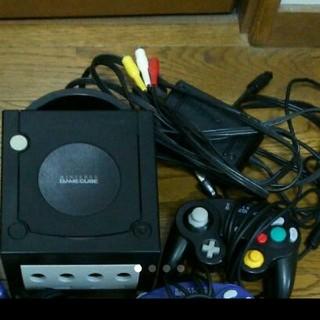 ニンテンドーゲームキューブ(ニンテンドーゲームキューブ)のゲームキューブ本体 ソフト多数 メモリカード付 スマブラDX ピクミン2(家庭用ゲーム本体)
