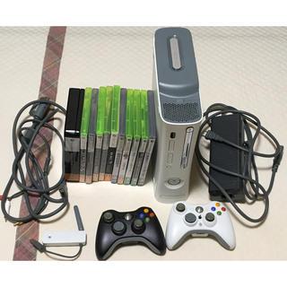 エックスボックス360(Xbox360)のXbox360 ソフト11本セット(ワイヤレスLANアダプター、リモコン付き)(家庭用ゲーム本体)