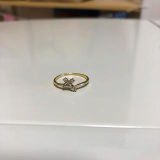 アヴァランチ(AVALANCHE)のQueen様ご専用♡ AVALANCHE  K10 指輪 リング クロス(リング(指輪))
