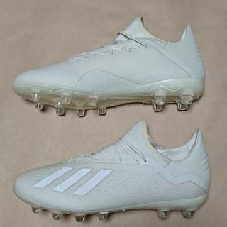 アディダス(adidas)のサッカーS 25.5cm アディダス X18.2HG/AG(シューズ)