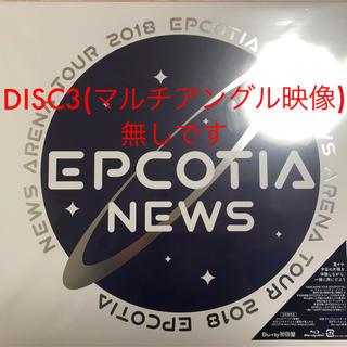 NEWS - NEWS EPCOTIA Blu-ray 初回盤
