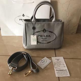 PRADA - プラダ2WAYバッグ グレー