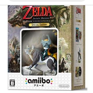 ウィーユー(Wii U)のゼルダの伝説トワイライトプリンセス(スペシャルエディション)(家庭用ゲームソフト)