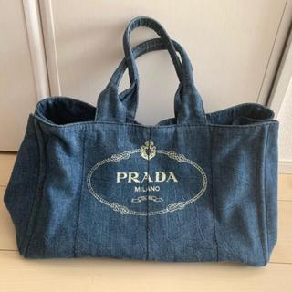 PRADA - PRADA プラダ デニムカナパ