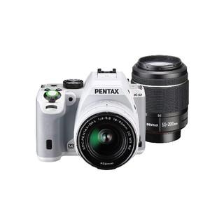 ペンタックス(PENTAX)のPENTAX デジタル一眼レフ K-S2 白 ダブルズームレンズキット(デジタル一眼)
