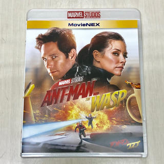 ディズニー(Disney)のアントマン&ワスプ Blu-rayのみ 新品未使用 マーベル (外国映画)