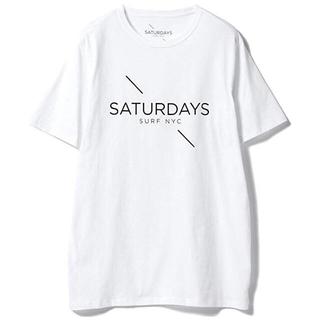 サタデーズサーフニューヨークシティー(SATURDAYS SURF NYC)のsaturdayssurfnycTシャツbeams別注サーフロンハービームスwt(Tシャツ/カットソー(半袖/袖なし))