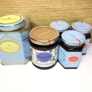 ウェッジウッド(WEDGWOOD)の☆新品未開封☆ウェッジウッド 紅茶&ジャム4個&タリーズベアセット(茶)