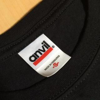 アンビル(Anvil)の【anvil】無地黒Tシャツ新品未使用(Tシャツ/カットソー(半袖/袖なし))