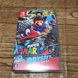 ニンテンドースイッチ(Nintendo Switch)のスーパーマリオオデッセイ(携帯用ゲームソフト)
