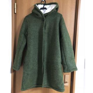 ショコラフィネローブ(chocol raffine robe)のchocol raffine robe 裏ボアコート(ロングコート)