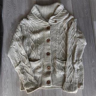 ショコラフィネローブ(chocol raffine robe)のchocol raffine robe ニット カーディガン(ニット/セーター)