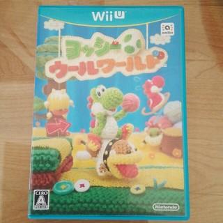 ウィーユー(Wii U)のヨッシーウールワールド Wii U(家庭用ゲームソフト)