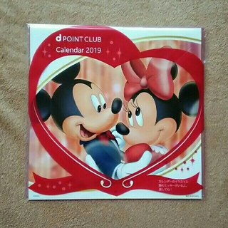 ディズニー(Disney)の最安値♪ドコモディズニー壁掛けカレンダー2019年☆書き込み式☆ミッキー&ミニー(カレンダー/スケジュール)