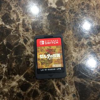 ニンテンドースイッチ(Nintendo Switch)のSwitch ゼルダの伝説 ブレスオブザワイルド(携帯用ゲームソフト)