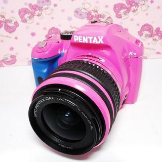 ペンタックス(PENTAX)の❤️超希少カラー♪Wi-Fi付き‼❤️PENTAX ペンタックス k-x ピンク(デジタル一眼)