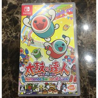 ニンテンドースイッチ(Nintendo Switch)の太鼓の達人 Nintendo Switchば~じょん!(携帯用ゲームソフト)
