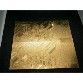 2枚セット 画家ジャン ロレンツォ ベルニーニが描かれたゴールドリラ紙幣 金運(その他)