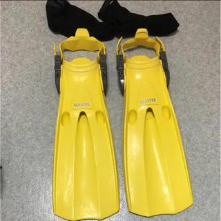 美品 ダイビング フィン、ブーツ2セット(マリン/スイミング)