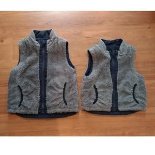 ムジルシリョウヒン(MUJI (無印良品))の無印良品 ベスト 90 110(ジャケット/上着)