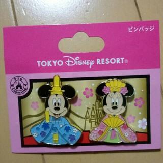 Disney - ディズニー ミッキー ミニー ひな祭り ピンバッジ