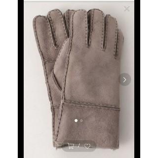 ビューティアンドユースユナイテッドアローズ(BEAUTY&YOUTH UNITED ARROWS)の年末セール 新品未使用☆ BEAUTY & YOUTH ムートン 手袋(手袋)