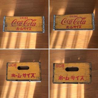 コカコーラ(コカ・コーラ)のコカ・コーラ木箱1個④(その他)