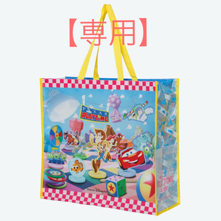 Disney - 【新品未使用】ピクサープレイタイム ショッピングバッグM