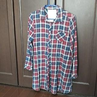 美品!女児160~165 ワンピースシャツ