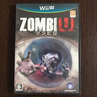 ウィーユー(Wii U)のゾンビ U Wii U ソフト(家庭用ゲームソフト)