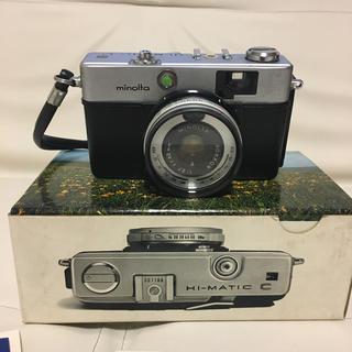 コニカミノルタ(KONICA MINOLTA)のMINOLTA HI-MATIC フィルムカメラ(フィルムカメラ)