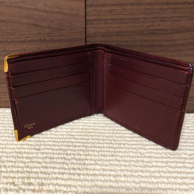 2b171f78e279 Cartier(カルティエ)のカルティエ 財布 中古 メンズのファッション小物(折り財布)