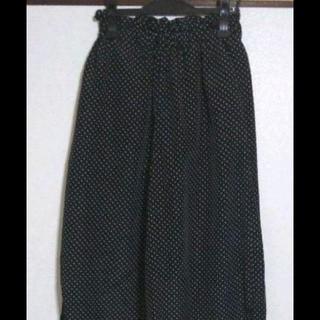ショコラフィネローブ(chocol raffine robe)の未使用☆春物ドットワイドパンツ(その他)