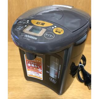 ゾウジルシ(象印)の象印マイコン沸とう電動ポット /CD-WU22  ブラウン(電気ポット)
