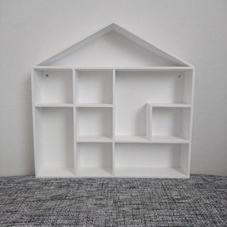 エイチアンドエム(H&M)のH&M HOME ハウス型シェルフ ウォールシェルフ 飾り棚 子供部屋(棚/ラック/タンス)