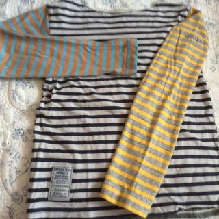 ニードルワークスーン(NEEDLE WORK SOON)のオフィシャルチーム ボーダーティシャツ 140センチ(Tシャツ/カットソー)