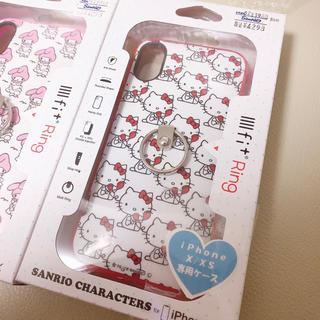 サンリオ(サンリオ)の新品 ハローキティ iPhone x xs アイフォンケース 携帯 カバー(iPhoneケース)
