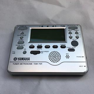 ヤマハ 録音機能付きチューナー TDM-75R  中古品(その他)