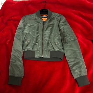 バレンシアガ(Balenciaga)のジヨン着用❗️Balenciaga boxy bomber jacket MA1(ブルゾン)