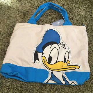 ディズニー(Disney)の【新品】トートバッグ ディズニー ドナルドダック (トートバッグ)