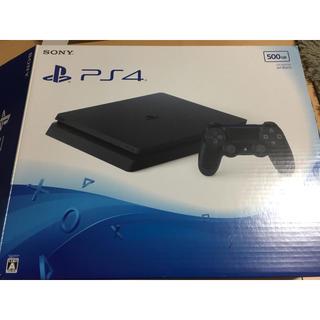 PlayStation4 - 【モンハン付き】PlayStation4 ジェットブラック 500GB 【中古】