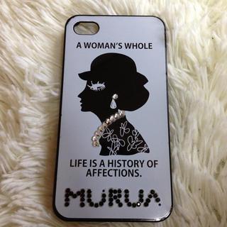 ムルーア(MURUA)のMURUA  iPhoneケース(モバイルケース/カバー)