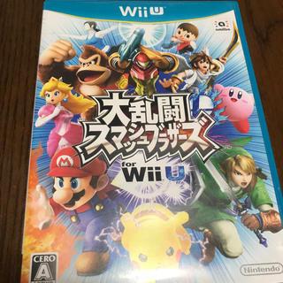 ウィーユー(Wii U)のWiiU   スマブラ(家庭用ゲームソフト)